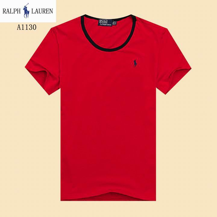 POLO short round collar T man S-3XL-014