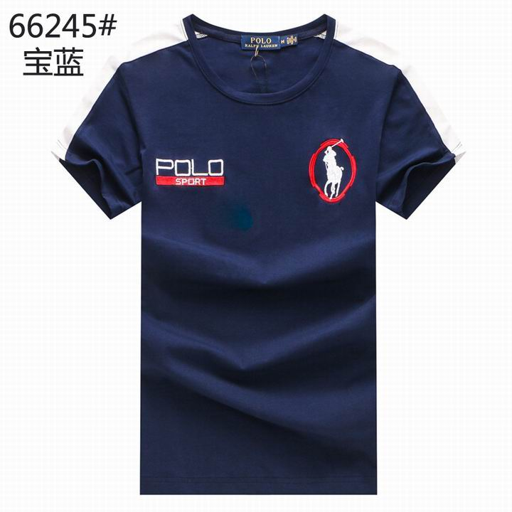 POLO short round collar T man S-3XL-057