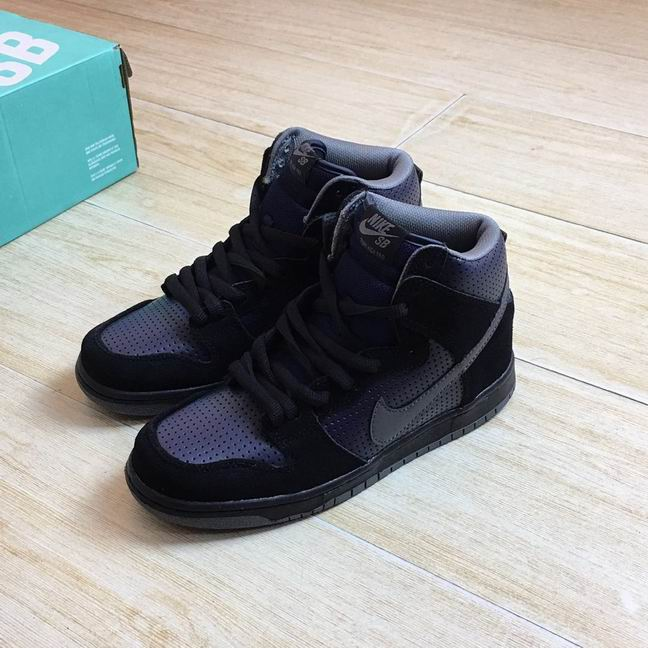 WOMEN NIKE DUNK SB high shoes-044