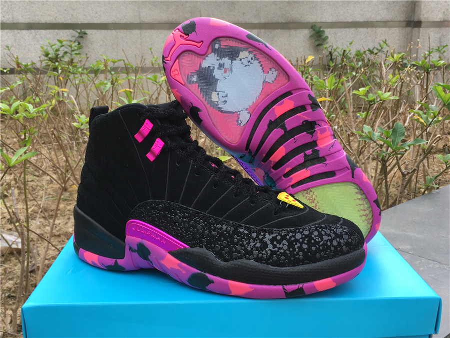 men Air Jordan 12 Doernbec-001